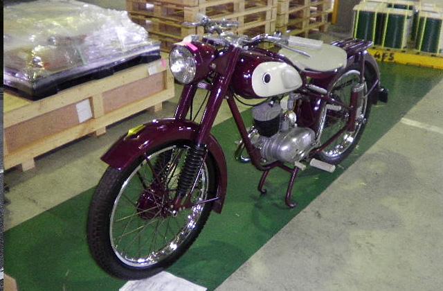 日本発動機(ヤマハ)1956年YA-1